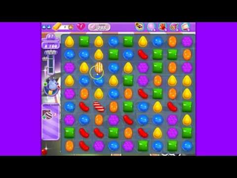 Candy Crush Saga DreamWorld level 245