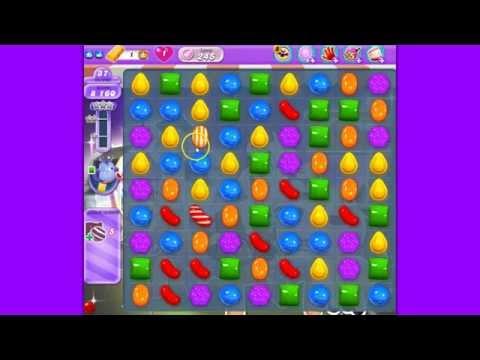 Candy Crush Saga DreamWorld level 245