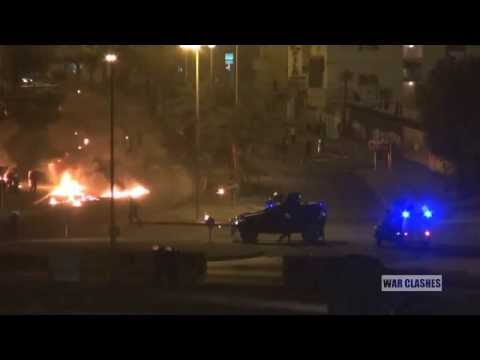 Protesters Target Security Forces With Molotov Cocktails In Bahrain
