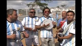 Nesta sábado o Mineirão vai se colorir de azul e branco com a seleção da Argentina contra o Irã. Hoje as equipes estiveram no estádio para fazer o conhecimento do gramado.
