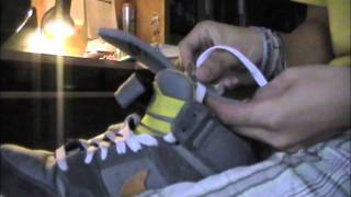 How To Tuck Your Laces Under Your Sole UNEDITED