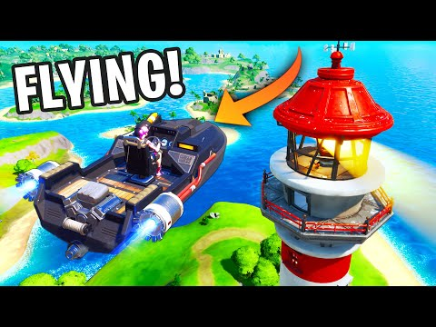 *NEW* FLYING BOAT TRICK!! - Fortnite Funny and Daily Best Moments Ep. 1391
