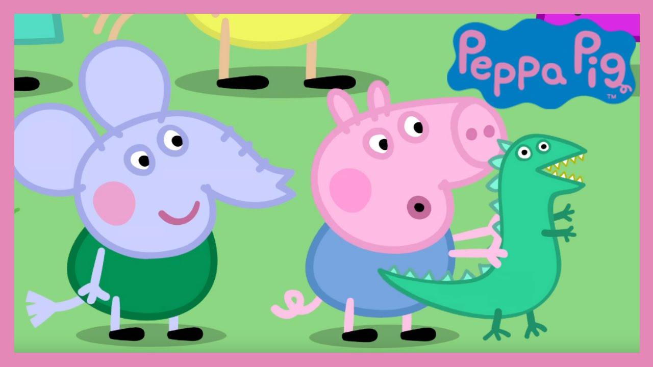 Peppa Pig - Grampy Rabbit's Dinosaur Park