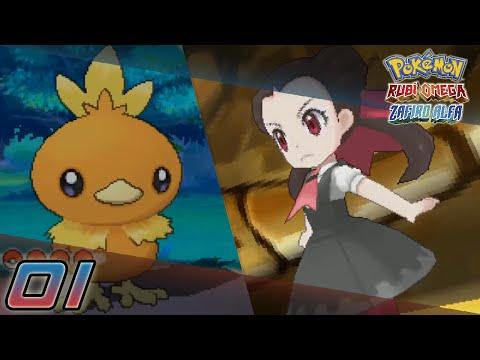 Pokémon Rubí Omega / Zafiro Alfa Capítulo 1 - Dos primeras medallas ;D