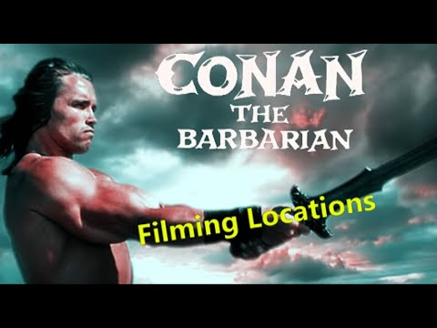 Conan the Barbarian 1982 (FILMING LOCATION) Arnold Schwarzenegger