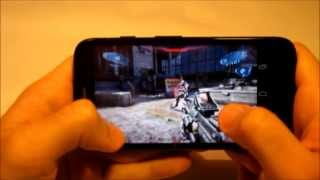 Motorola Moto G Juegos: N.O.V.A 3 (NOVA 3) Test IN GAME