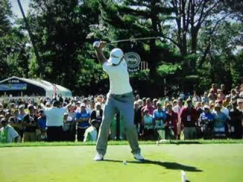 Adam Scott - 250 Yard 3-Iron (Ultra Slow Motion) Aug 10, 2013