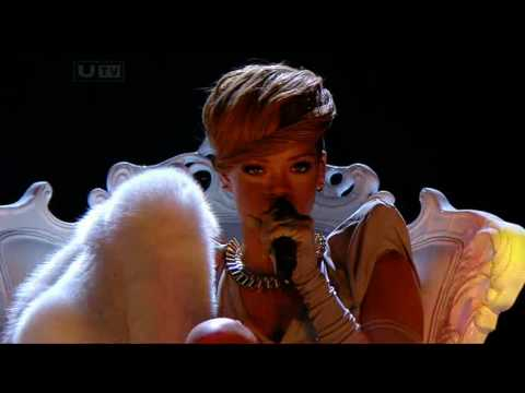 Rihanna live russian roulette x factor