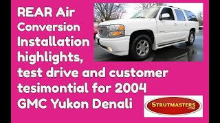 2004 Yukon Denali With An Air Suspension Conversion By