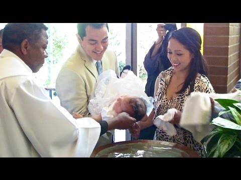 JULIANNA'S BAPTISM! - May 04, 2013 - itsJudysLife Vlog