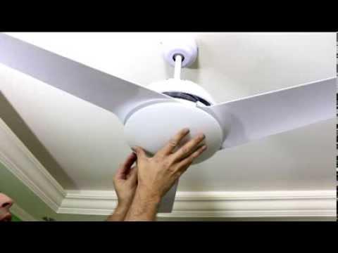 Como Instalar um ventilador de teto com controle remoto