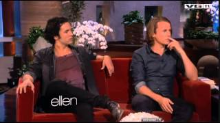 Ylvis The Fox , The Whole Interview At The Ellen Degeneres