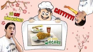 Gà giòn cay Wasabi mới của Popeyes | Tối nay ăn gì?