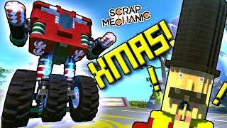 SCRAPMAS IS HERE!  YOUR Holiday Creations! - Scrap Mechanic Gameplay