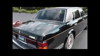 1990 Rolls Royce Silver Spur II Long Wheel Base