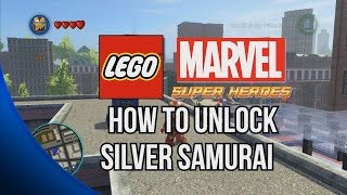 How To Unlock Silver Samurai LEGO Marvel Super Heroes