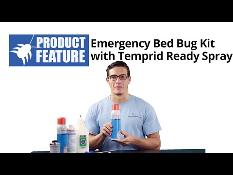 Emergency Bed Bug Kit with Bayer Ready Spray (Do My Own Pest Control)