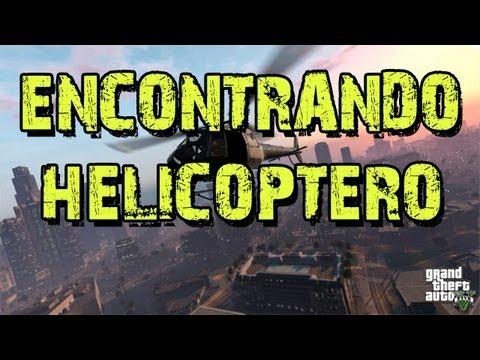 GTA V: Encontrando Helicóptero (Sem Spoilers)