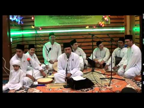 Maulid Qafilah Zikrullah Melbourne Narre Warren Hall 2014 April