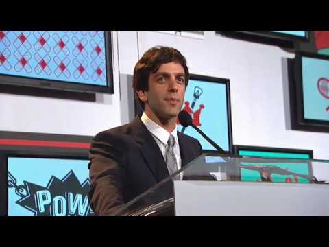 Webby Awards Host B.J. Novak Opening Monologue at the 14th Annual Webby Awards.mov
