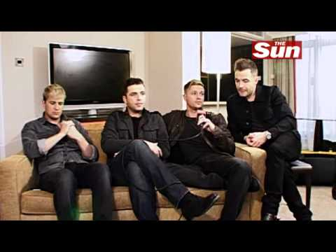Westlife interview on The Sun  Showbiz Bizarre