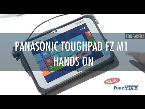 Panasonic ToughPad FZ M1 7-inch Windows 8 Tablet