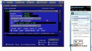 ZSNES Configurando E Jogando Online(NetPlay)