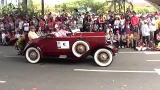 Desfile De Autos Antiguos Feria De Las Flores 2012