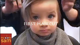 BABY'S FIRST HAIRCUT (Music Video) Mugglesam Babies