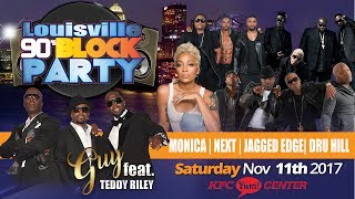 Louisville 90's Block Party - November 11th, 2017