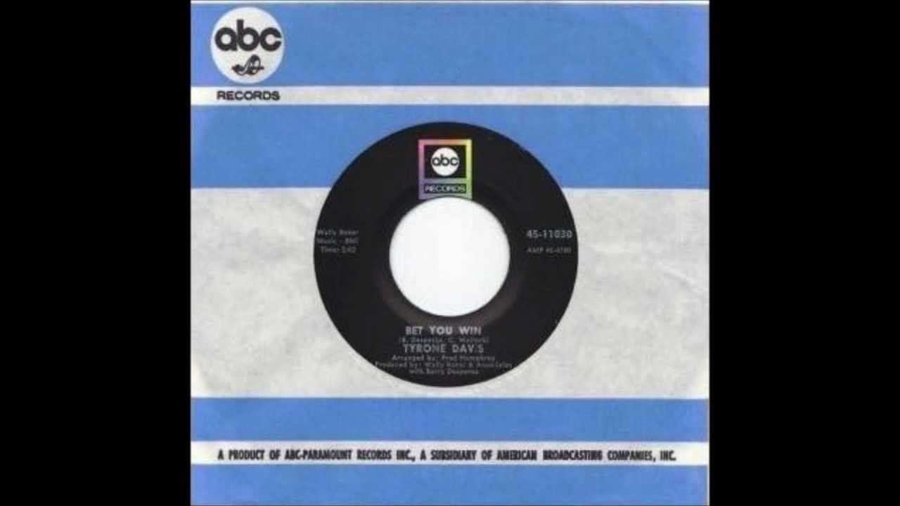Tyrone Davis - I Had It All The Time / You Wouldn't Believe