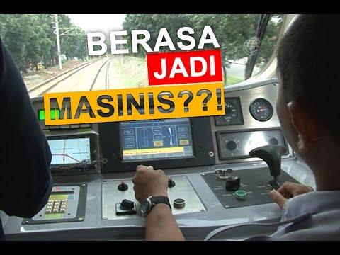 Test Run KKFW i9000 #View : Kabin Masinis
