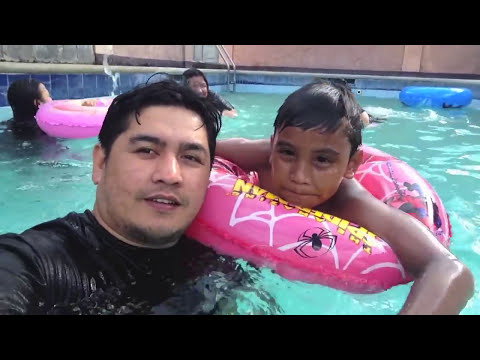 Vlog #123 Vacation in the Philippines 2014, Swimming, prvate pool, fun with family