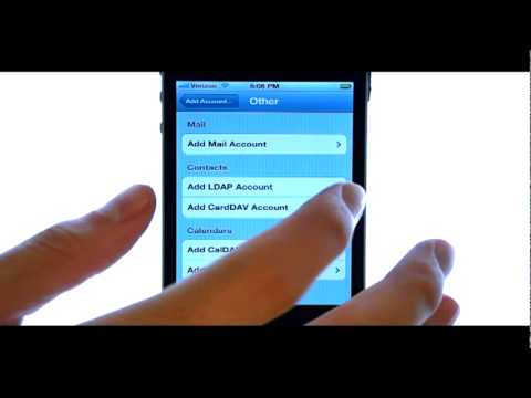 how to add mailbox on iphone 4
