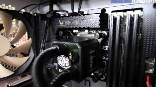 H220 Vs H110 Vs Eisberg 240L Vs Water 2.0 CPU Cooler