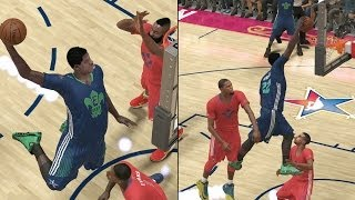 All-Star Game Becomes Dunk Contest! NBA 2K14 MyCareer