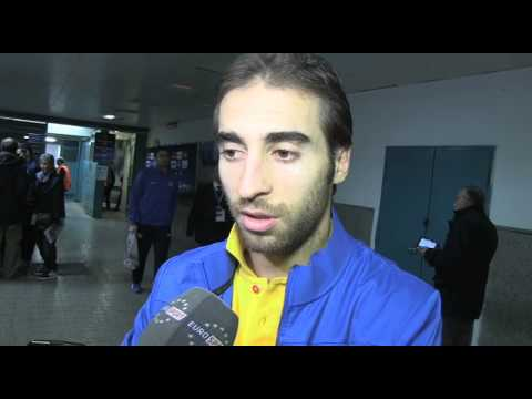 Mathieu Flamini after Napoli v Arsenal - 12 12 2013