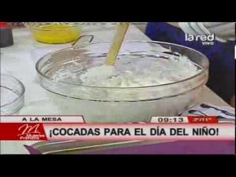 Receta: Cocadas horneadas