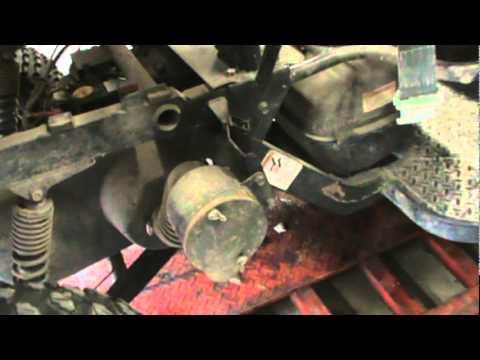 Kawasaki Brute Force Adjust Idle