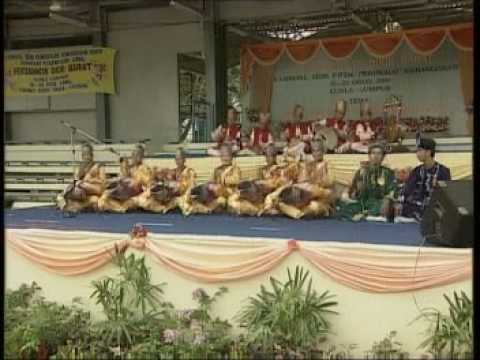 Pertandingan Akhir Dikir Barat Kebangsaan Antidadah 2004(Kelate)