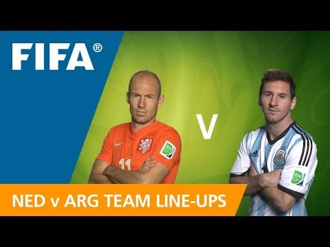 Netherlands v. Argentina - Teams Line-ups EXCLUSIVE