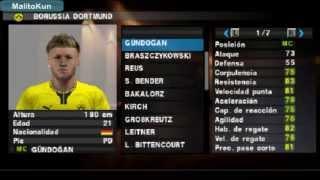 Borussia Dortmund FacePack 2013 Pes 2013 Psp/ps2/wii