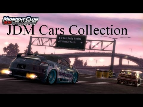 Midnight Club LA: Meus Carros Japoneses (JDM)