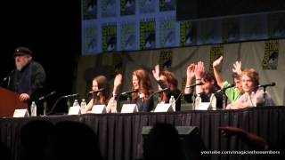 SDCC 2012 – Game of Thrones – Panel Video