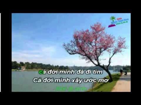 karaoke  LK  THANH PHO BUON  song ca