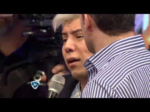 Showmatch 2014 - Tinelli se enojó con el ex fan de Wanda