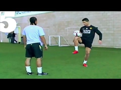 Cristiano Ronaldo AMAZING Freestyle Football Skills | #5 Silks,