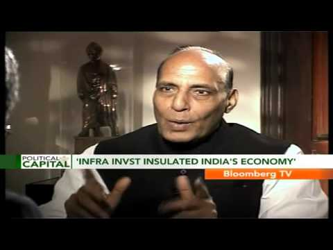 Political Capital- Preparing Infra Vision Docu: Rajnath Singh