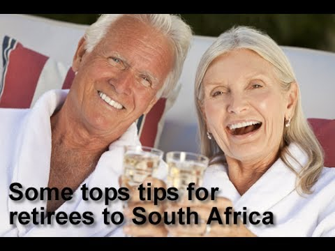 Some tops tips for retirees to South Africa - Retirement Permit South Africa