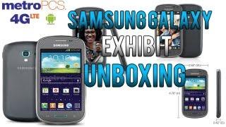 Samsung Galaxy Exhibit 4GLTE Unboxing (Metro PCS Or T